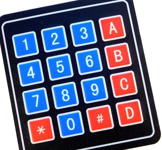 4 x 4 Matrix Array Keypad for Arduino Raspberry ST32 - smarter electronics by universal solder