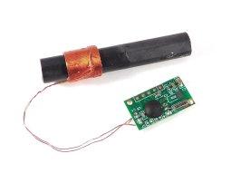 DCF77 atomic clock receiver module loop stick ferrite antenna - smarter electronics by universal solder