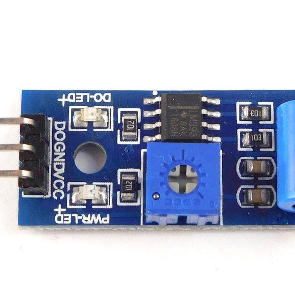 5 Sensor Starter Kit for Arduino