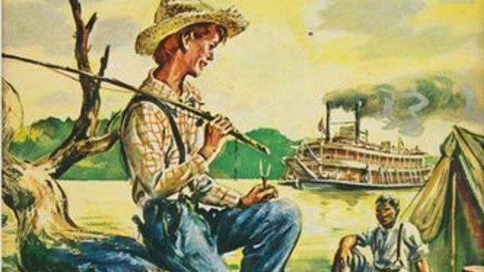 The Adventures of Huckleberry Finn-Summary