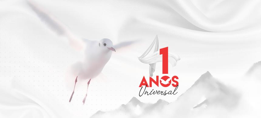 Aniversario de los 41 años de la Universal: Usted es nuestro invitado especial
