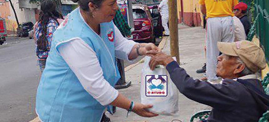 México es uno de los países  más solidarios del mundo