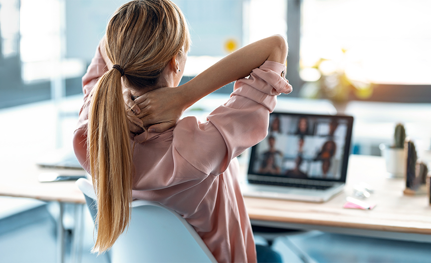 Exceso de videollamadas puede dañar la salud