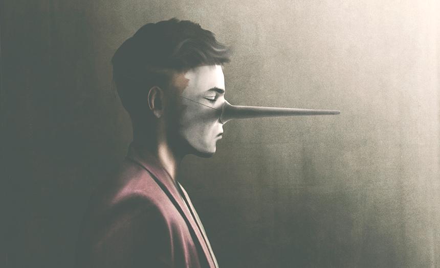¿Por qué la mentira vuela mientras la verdad duele?