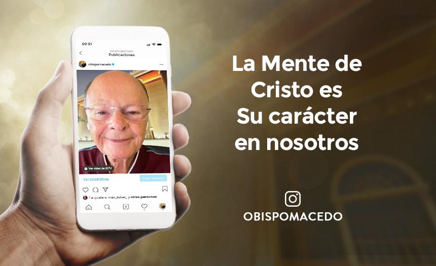 La Mente de Cristo es Su carácter en nosotros