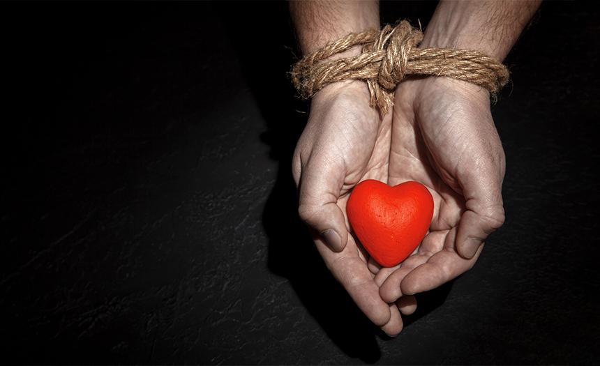 No deje que su corazón le domine