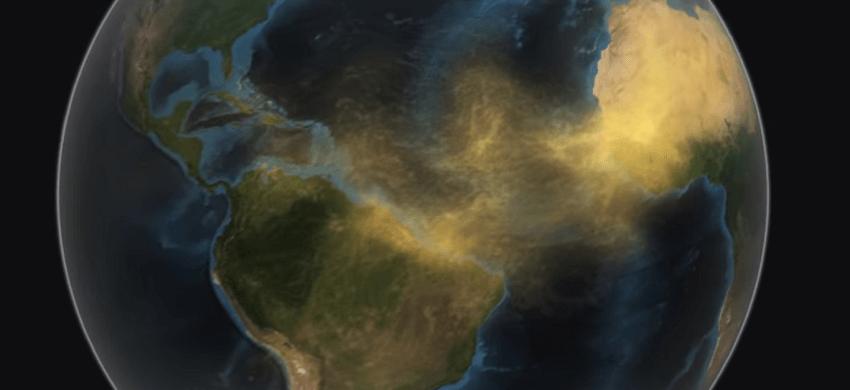 Nube de polvo «Godzilla»: el mayor en 50 años