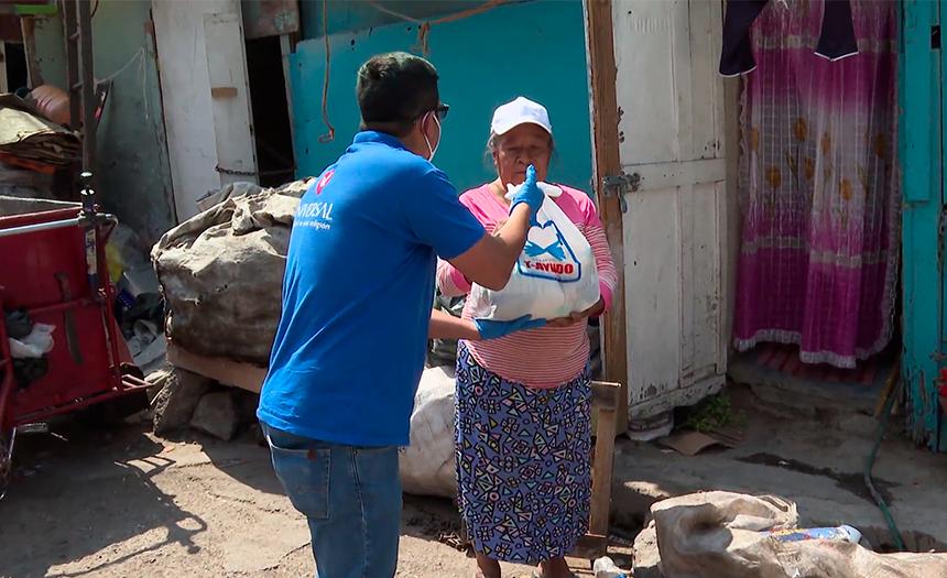Para habitantes de Ciudad Lago, tener comida sana es un lujo
