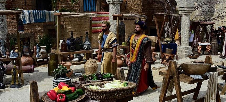 Costumbres de la Biblia: El mercado, corazón de la ciudad