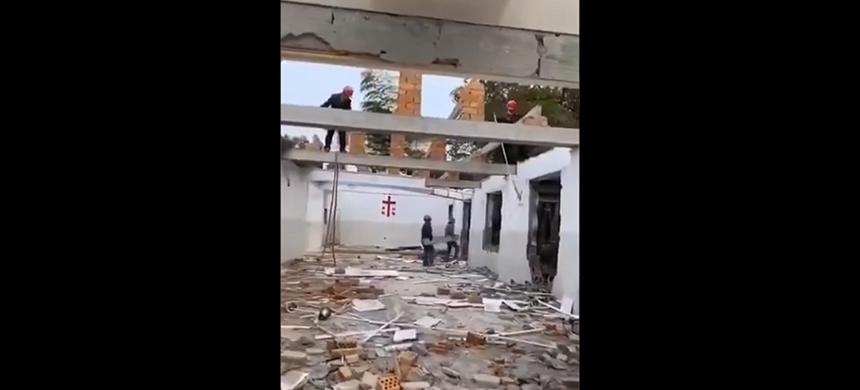 Destruyen iglesias en China durante el periodo de aislamiento