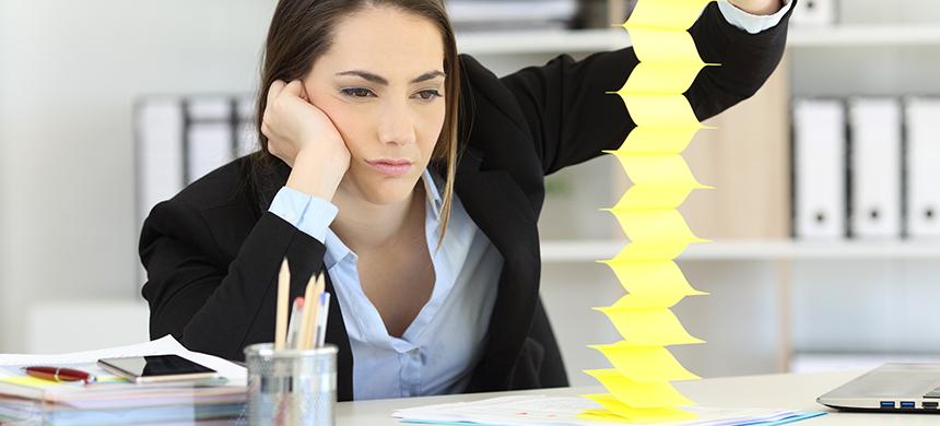 Ser relajado en tu trabajo solo trae pérdidas