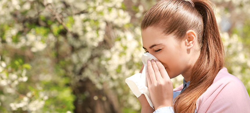 ¿Qué incrementa la incidencia de las alergias en diferentes épocas del año?