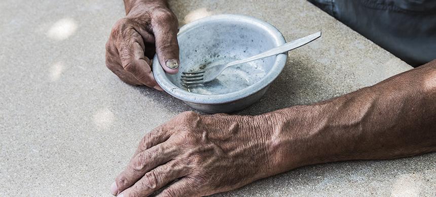 El hambre del Fin de los Tiempos está sucediendo
