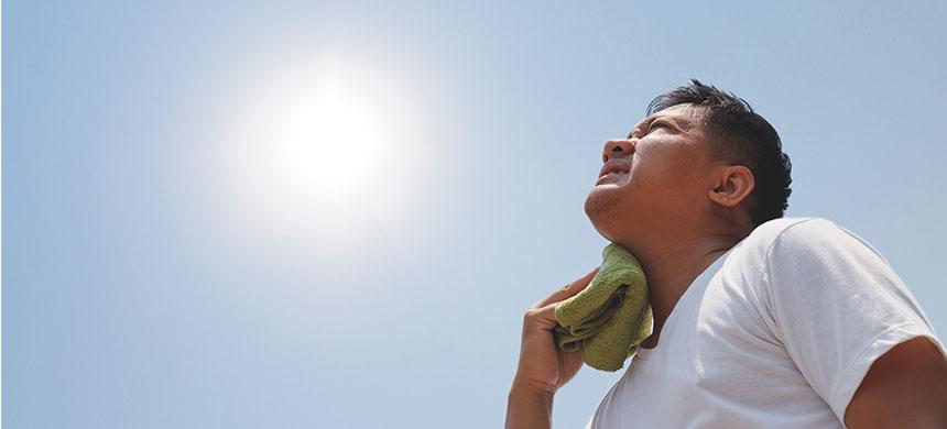 Fin de los tempos: fuerte ola de calor ocasiona muertes en India