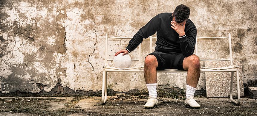 Uno de cada diez jugadores de fútbol tiene síntomas de depresión