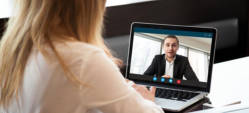 Algunos consejos para una exitosa entrevista de trabajo online