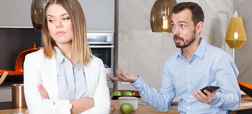 «La ley del hielo» no es la solución para tu matrimonio