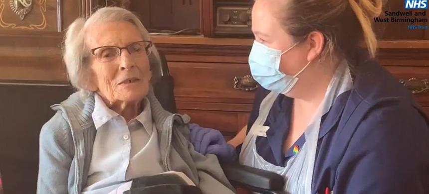 Coronavirus: dan de alta a la mujer más anciana del mundo tras vencer al Covid-19