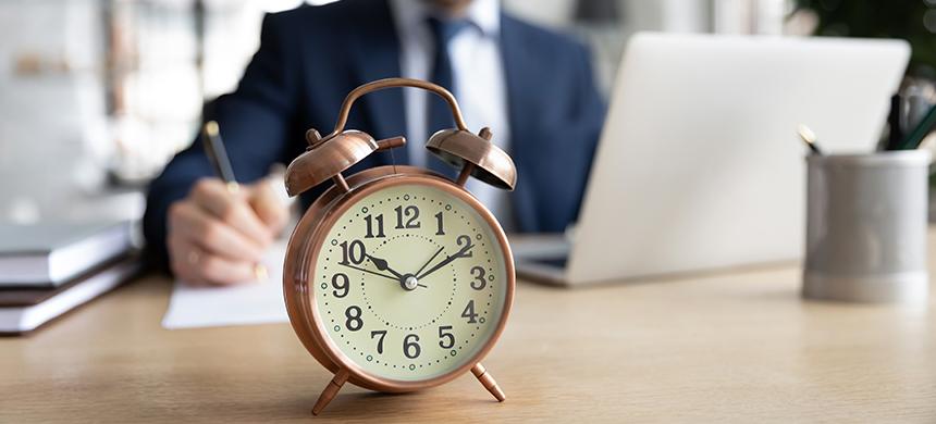 ¿No sabes cómo rendir tu tiempo para la vida? Sigue estos consejos de un especialista