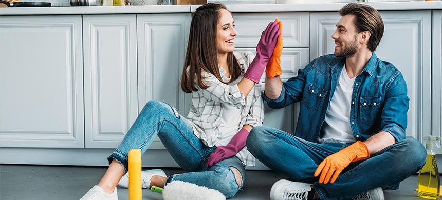 Mantener limpio tu hogar te hace más feliz