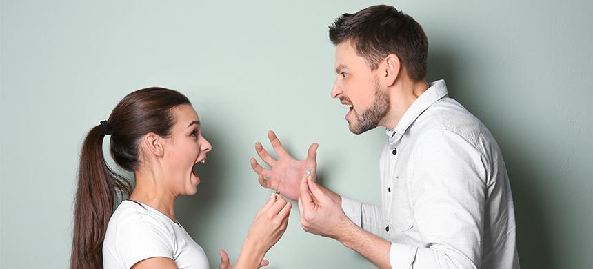 Si tu marido y tú no saben conversar, ¿qué pueden hacer?
