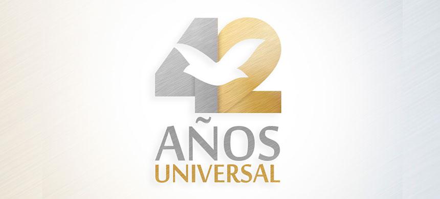 ¡42 años de la Universal!