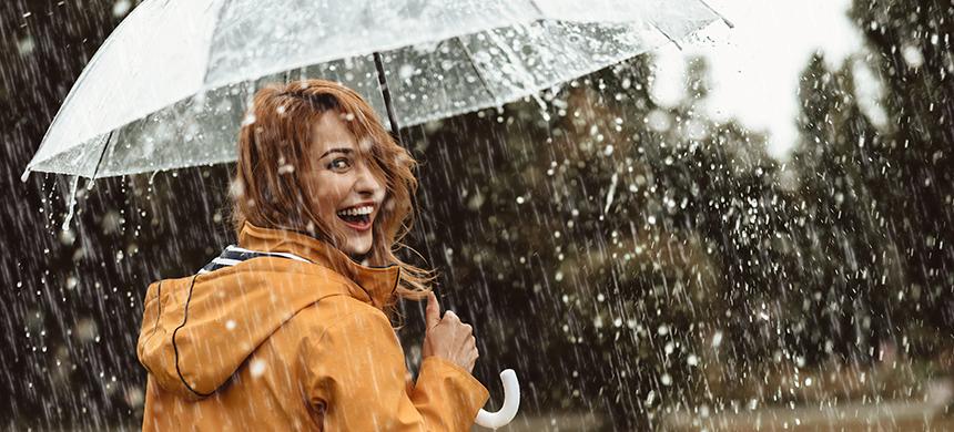 Lluvia en el tiempo de Dios
