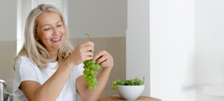 Los beneficios de consumir uvas