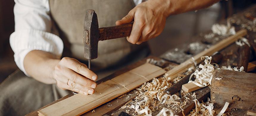 Costumbres de la Biblia: la carpintería