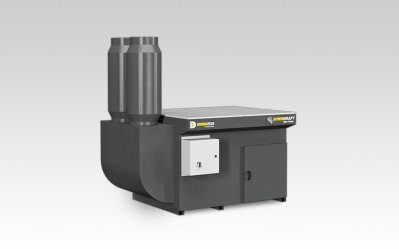 DD 3x4 Dry DownDraft Table Dust Collector