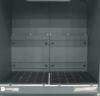 Backdraft hood w/ sliding gates, two modules, DD 2X4