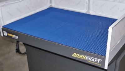Blue Mat table top