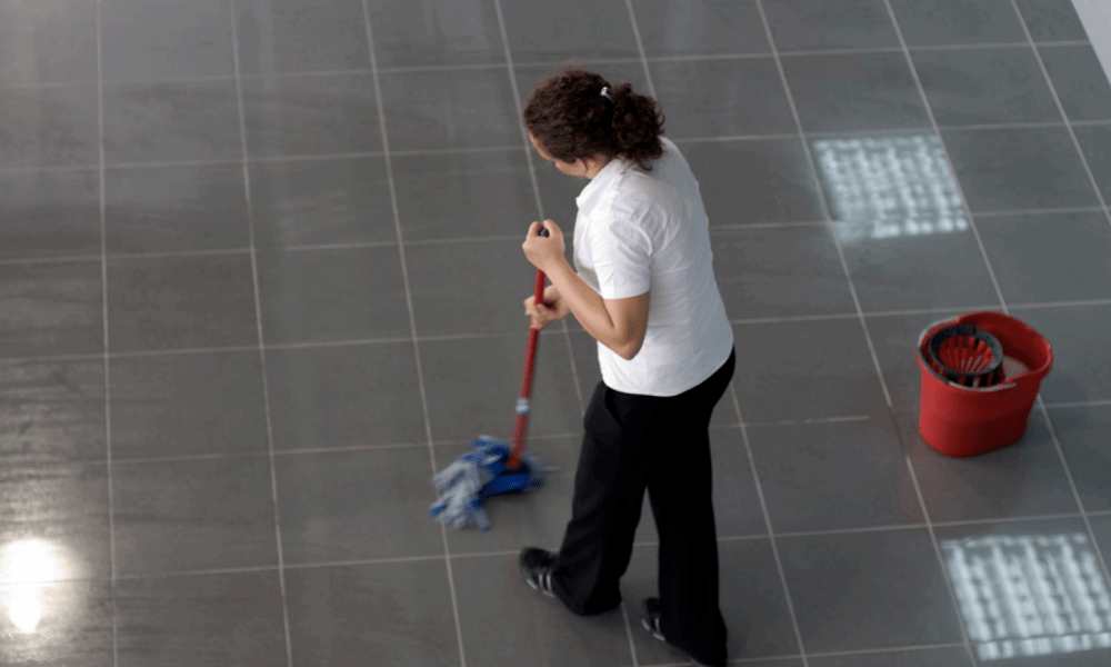 Prevent Slips Falls Floor Cleaning Hamilton Universal Cleaners