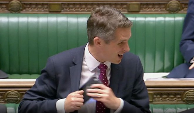 Has the defence secretary Gavin Williamson compromised national security? – 'PERSEC' RED breach?