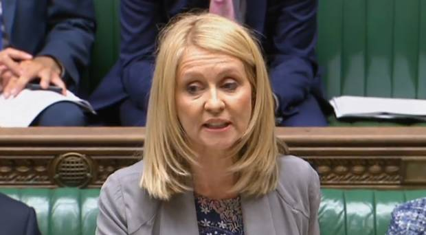 Tories slither in to save McVey from being sanctioned.