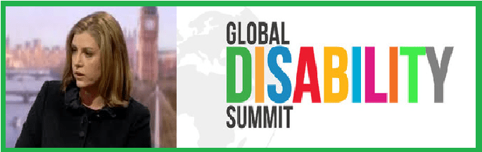 Penny Mordaunt heads Global Disability Summit despite always voting to cut disability benefits.
