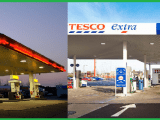 Tesco Shell Filling Stations