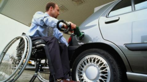 Are petrol stations failing disabled customers?
