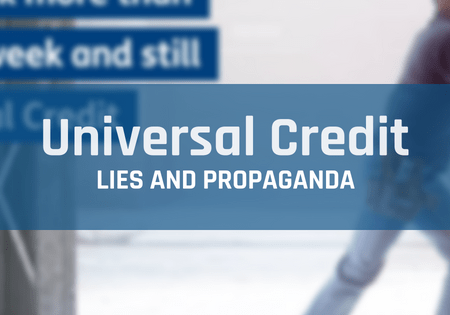 Image result for universal credit deflection script