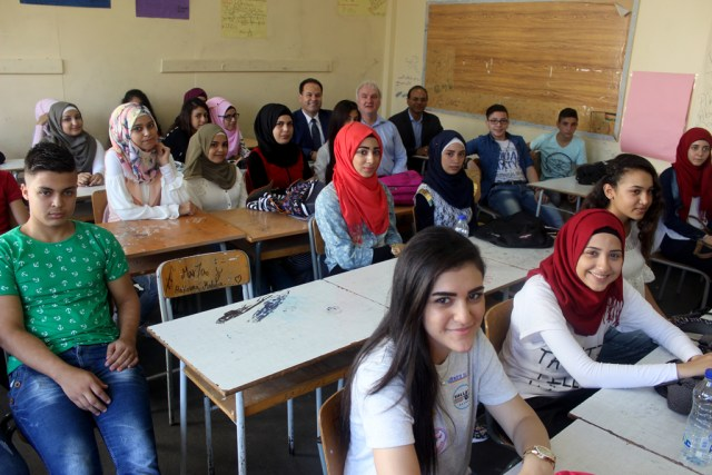 UNRWA School In Lebanon