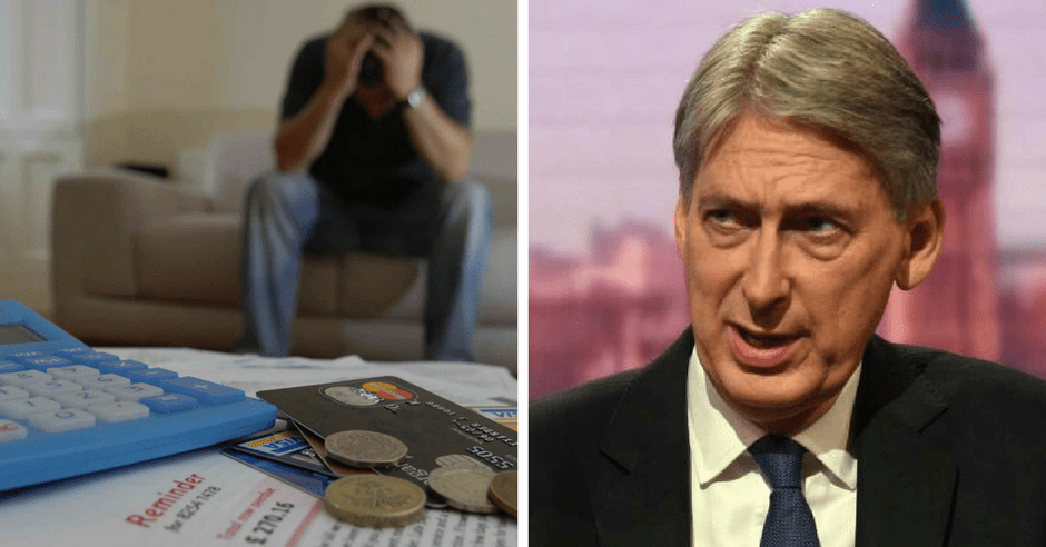 Hammond's budget shows Universal Credit claimants mean nothing to the Tories