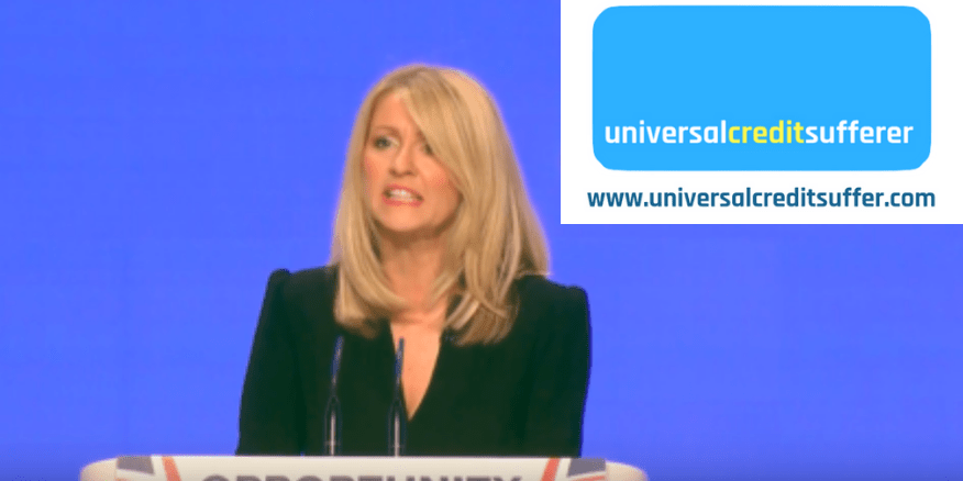 Esther McVey admits millions will lose £200 a month on Universal Credit