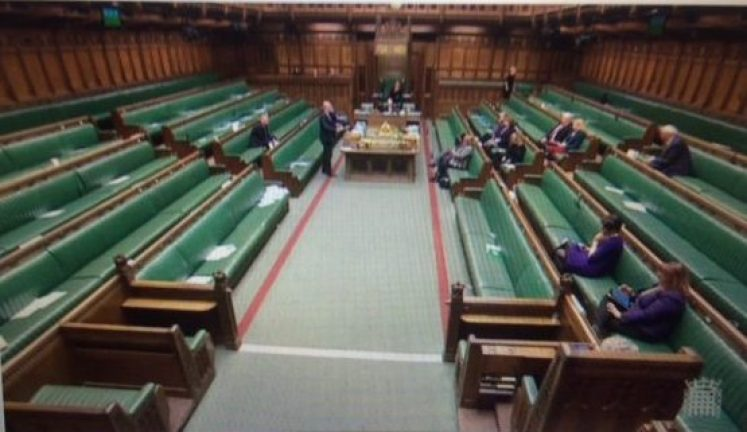 UN Poverty Debate House of Commons with only 13 MPs