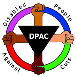 Disabled People Against Cuts Logo