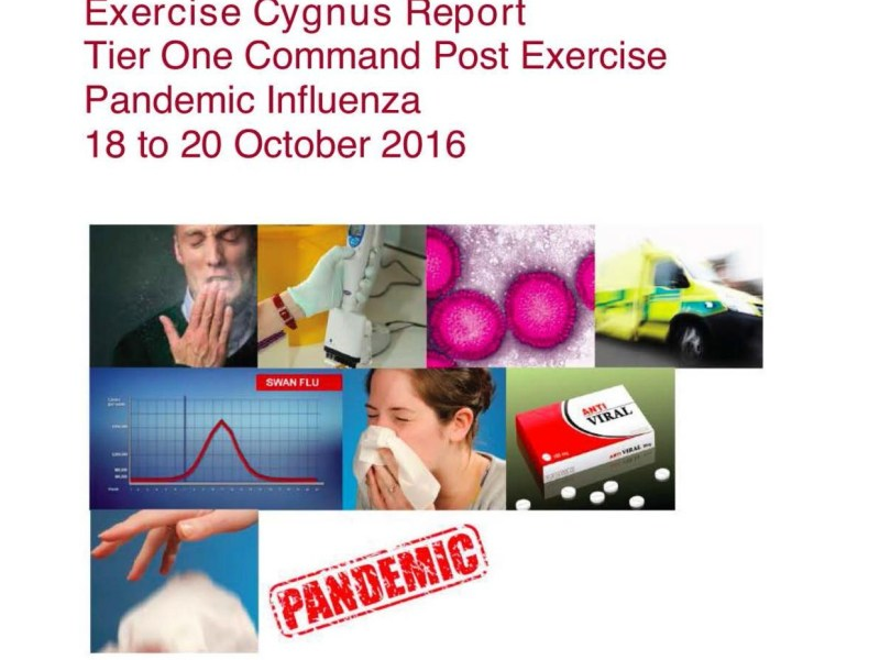 The Exercise Cygnus Report the Government Didn't Want You to See