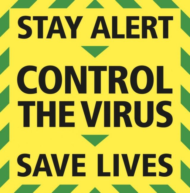 Stay Alert, Control The Virus, Save Lives
