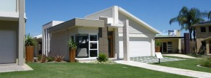A single storey home has few barriers to universal design in housing.