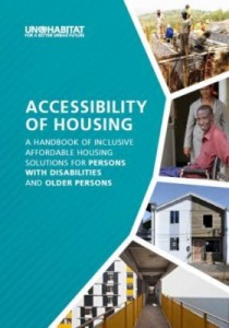 Front cover of the publication, Accessibility of Housing.