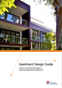 NSW Apartment Design Guide cover