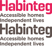 habinteg logo - accessible homes, independent lives